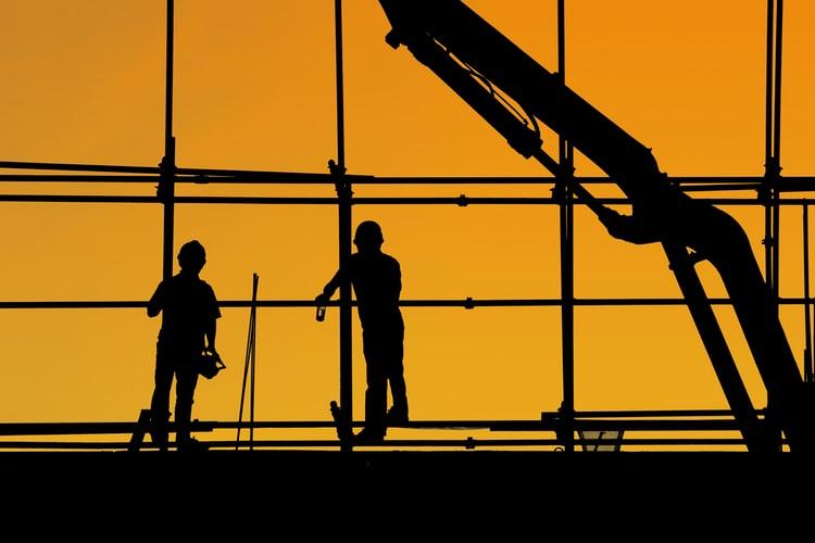 monte-charge pour construction