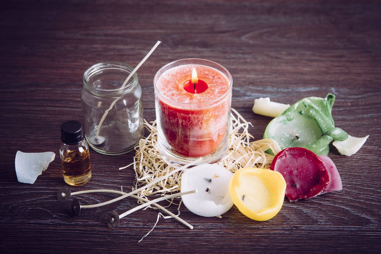 bougies naturelles parfumées